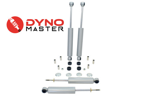 """Drop Shock Kit For 3"""" / 3"""" - 4"""" Drop (Spindles, Shackles, and Drop Hangers) on 94 - 01 Dodge Ram 1500 2WD"""