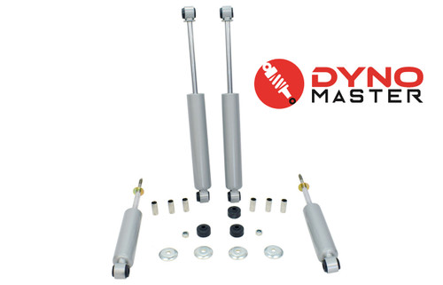"Drop Shock Kit For 4"" / 6"" Drop (Spindles, Coils, and Flip Kit) on 94 - 01 Dodge Ram 1500 2WD"
