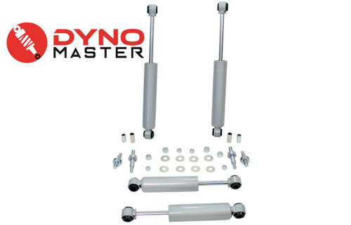 """Lift Shock Kit For 4"""" / 2"""" Lift (Spindle and Blocks) on 73 - 87 Chevrolet C10 / GMC C15"""