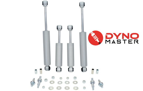 """Lift Shock Kit For 6"""" / 4"""" Lift (Coil Springs, Spindle, and Blocks) on 73 - 87 Chevrolet C10 / GMC C15"""