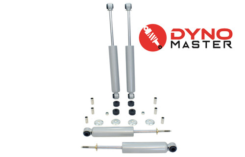 """Lift Shock Kit For 5"""" / 3"""" Lift (Spindles, Coils or Spacers, and Blocks) on 94 - 01 Dodge Ram 1500 2WD"""