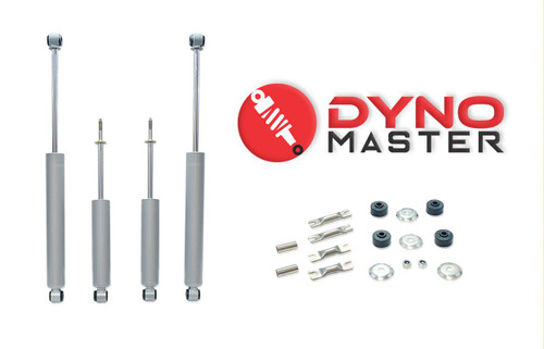 "Drop Shock Kit For 5"" / 3"" Lift (Coils or Spacers, Spindles, and Blocks) on 02 - 08 Dodge Ram 1500 2WD"