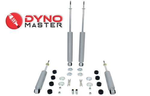 """Drop Shock Kit For 4"""" / 6"""" Drop (Coils, Spindles, and Flip Kit) on 97 - 03 Ford F-150"""