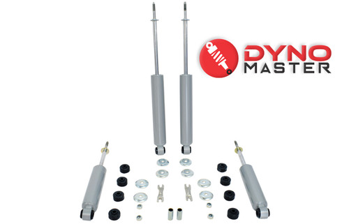 "Drop Shock Kit For 4"" / 7"" Drop (Coils, Spindles, Flip Kit, and Shackles) on 97 - 03 Ford F-150"