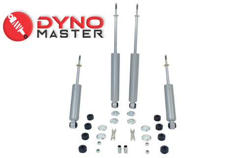 """Drop Shock Kit For 5"""" / 6"""" Drop (Coils, Spindles, and Flip Kit) on 97 - 03 Ford F-150"""