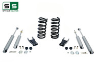 "99 - 06 Silverado / Sierra 1500 (V8)  2"" / 2"" Coil Drop Kit + Shocks"