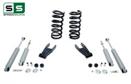 "99 - 06 Silverado / Sierra 1500 (V6)  2"" / 2"" Coil Drop Kit + Shocks"