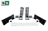 "99 - 00 Silverado / Sierra 1500 (V8)  3"" / 6"" Coil Drop Kit + C-Notch"