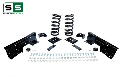"01 - 06 Silverado / Sierra 1500 (V6)  3"" / 6"" Coil Drop Kit + C-Notch"