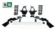 "01 - 06 Silverado / Sierra 1500 (V6)  4"" / 6"" Coil Drop Kit + C-Notch"