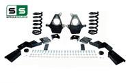 "01 - 06 Silverado / Sierra 1500 (V6)  4"" / 6"" Coil Drop Kit + C-Notch"