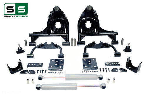 "99 - 06 Silverado / Sierra 1500 4"" / 6"" Control Arm Drop Kit + Rear Shocks"