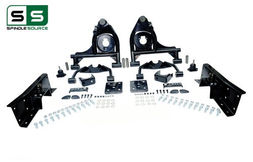 "01 - 06 Silverado / Sierra 1500  4"" / 6"" Control Arm Drop Kit + C-Notch"