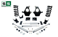 "99 - 06 Silverado / Sierra 1500 (V6)  4"" / 7"" Drop Kit + Shocks"