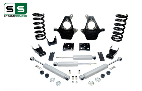 "99 - 06 Silverado / Sierra 1500 (V6)  4"" / 7"" Drop Kit + Shocks"