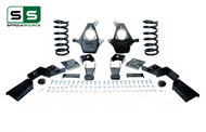 "01 - 06 Silverado / Sierra 1500 (V8)  4"" / 7"" Coil Drop Kit + C-Notch"