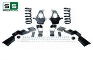 "01 - 06 Silverado / Sierra 1500 (V6)  4"" / 7"" Coil Drop Kit + C-Notch"