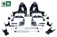 "99 - 06 Silverado / Sierra 1500 4"" / 7"" Control Arm Drop Kit + Rear Shocks"