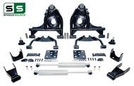 "99 - 06 Silverado / Sierra 1500 4"" / 7"" Control Arm Drop Kit + Rear Shocks"
