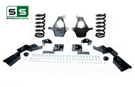 "99 - 00 Silverado / Sierra 1500 (V8)  5"" / 6"" Coil Drop Kit + C-Notch"