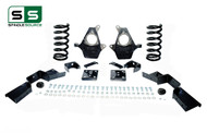 "01 - 06 Silverado / Sierra 1500 (V8)  5"" / 6"" Coil Drop Kit + C-Notch"
