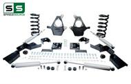 "99 - 00 Silverado / Sierra 1500 (V8)  5"" / 6"" Drop Kit + Shocks, C-Notch"