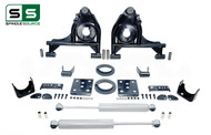 "99 - 06 Silverado / Sierra 1500 3"" / 5"" Control Arms (Lower Arms) Drop Kit + Rear Shocks"