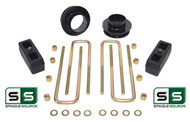 """3""""/2"""" SPACERS , REAR BLOCKS W/OUT O.L. FITS 88-00 CHEVY C2500/C3500 2WD 8 LUG"""