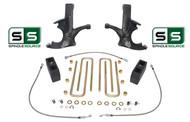 "4.5""/4"" SPINDLES,BLOCKS,RR LINE W/O.L. FITS 88-00 CHEVY C2500/C3500 2WD 8 LUG"