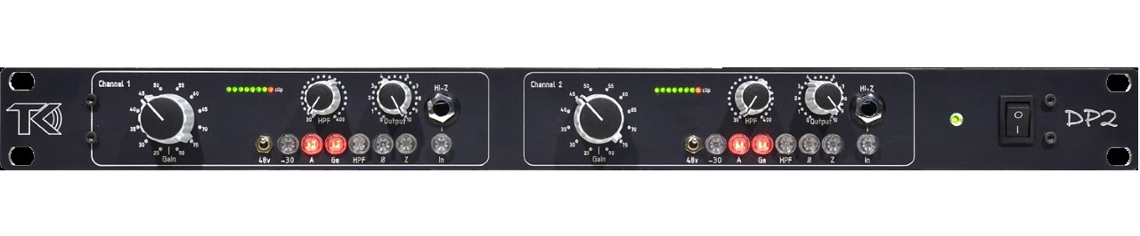 TK Audio DP2 Mic Preamp