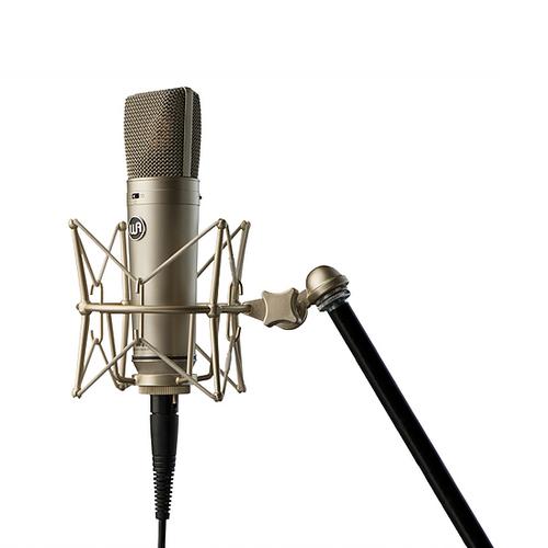 Warm Audio WA87 in shockmount - www.AtlasProAudio.com