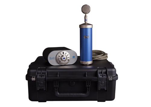Blue Bottle Microphone with case - www.AtlasProAudio.com