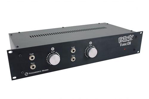 Teegarden Audio Fat Boy Stereo Tube DI Rack - www.AtlasProAudio.com