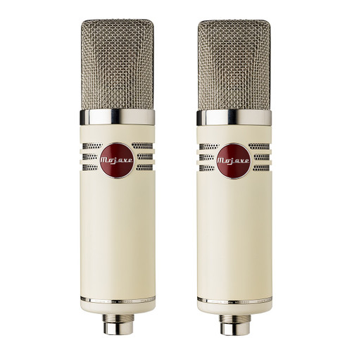 A Factory Matched Pair of Mojave MA-1000 Microphones - www.AtlasProAudio.com