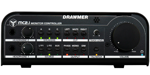 Drawmer MC2.1 Monitor Controller - Front - www.AtlasProAudio.com