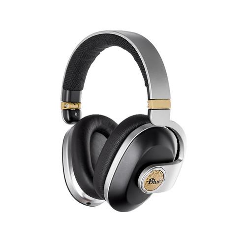 Blue Satellite Black Headphones - www.AtlasProAudio.com