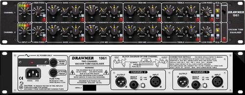 Drawmer 1961 - Stereo Tube EQ - www.AtlasProAudio.com