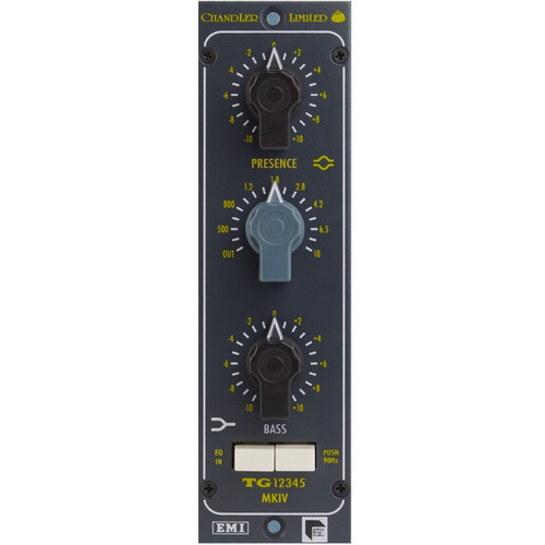 Chandler Limited TG12345 MKIV EQ for 500 Series - www.AtlasProAudio.com