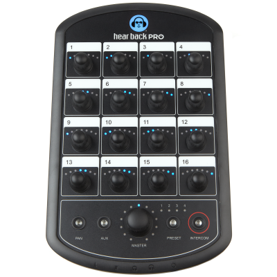 Hear Back Pro Mixer - www.AtlasProAudio.com