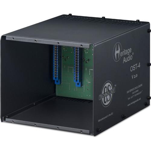 Heritage Audio OST-4 V2 - 4 Space 500 series rack - AtlasProAudio.com