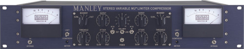 Manley Stereo Variable Mu Limiter Compressor - Front View