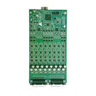 8 Channels of A/D/A and 8 Preamps, option card only.