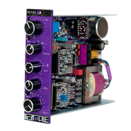 Purple Audio Action 500 Series Compressor - angle - Atlas Pro Audio