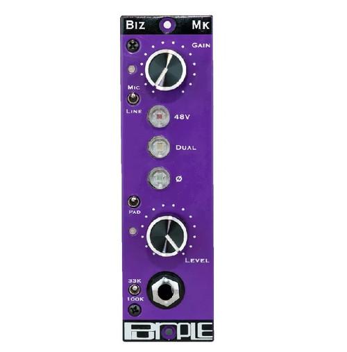 Purple Audio Biz Mk Pre - front - Atlas Pro Audio