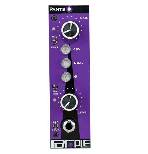 Purple Audio Pants Pre - front - Atlas Pro Audio