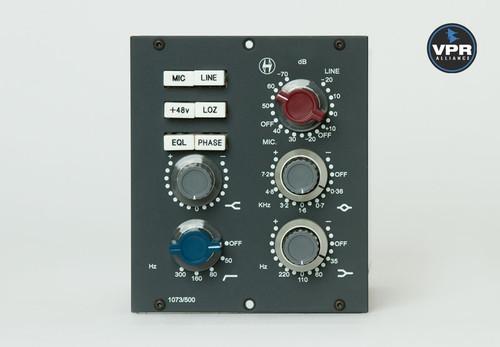 Heritage Audio 1073/500 Module - Front - Atlas Pro Audio