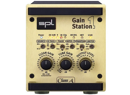 SPL GainStation 1 AD - Front - AtlasProAudio.com