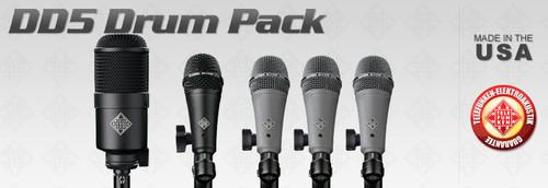 Telefunken Elektroakustik DD5 Drum Mic Set - AtlasProAudio.com
