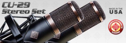 Telefunken Elektroakustik R-F-T CU-29 Stereo Set - AtlasProAudio.com