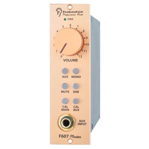 Fredenstein F607 Monitor Controller 500 Series Module - AtlasProAudio.com